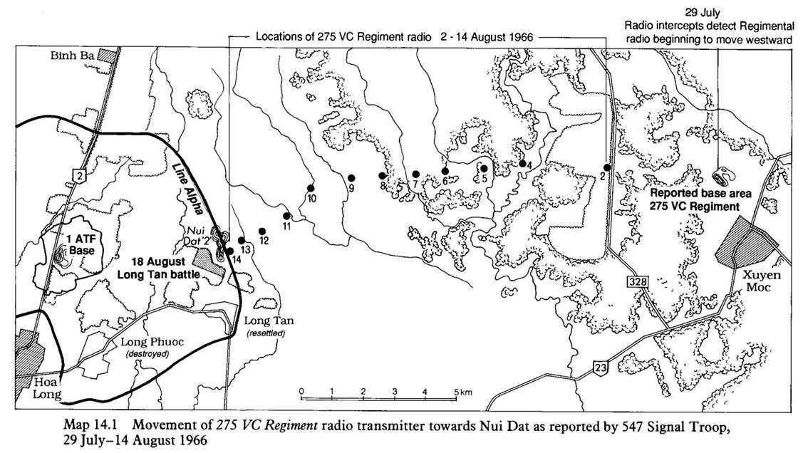 Battle of Long Tan Radio Signals Intelligence