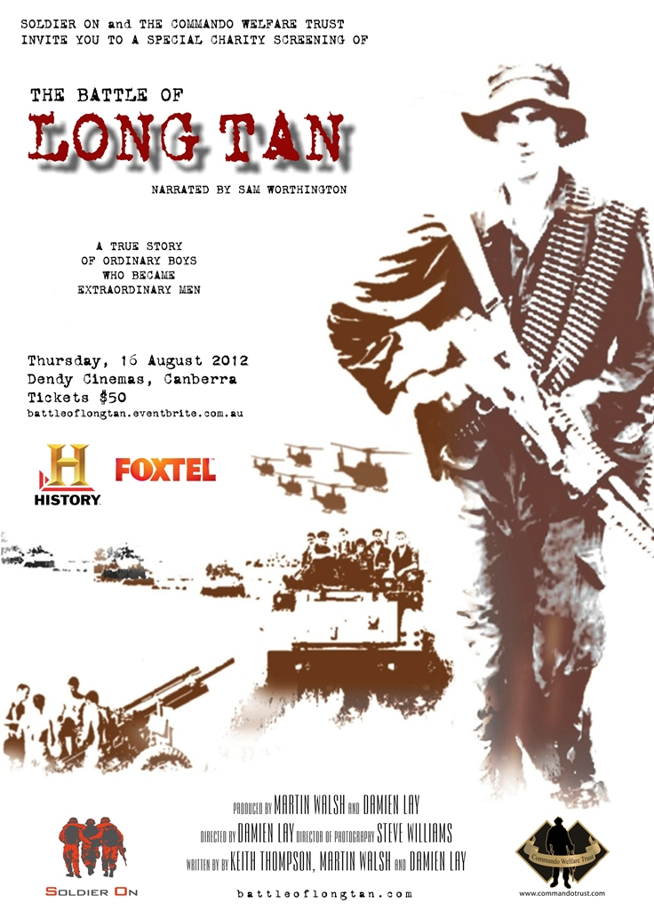 Long Tan Poster Charity Screening
