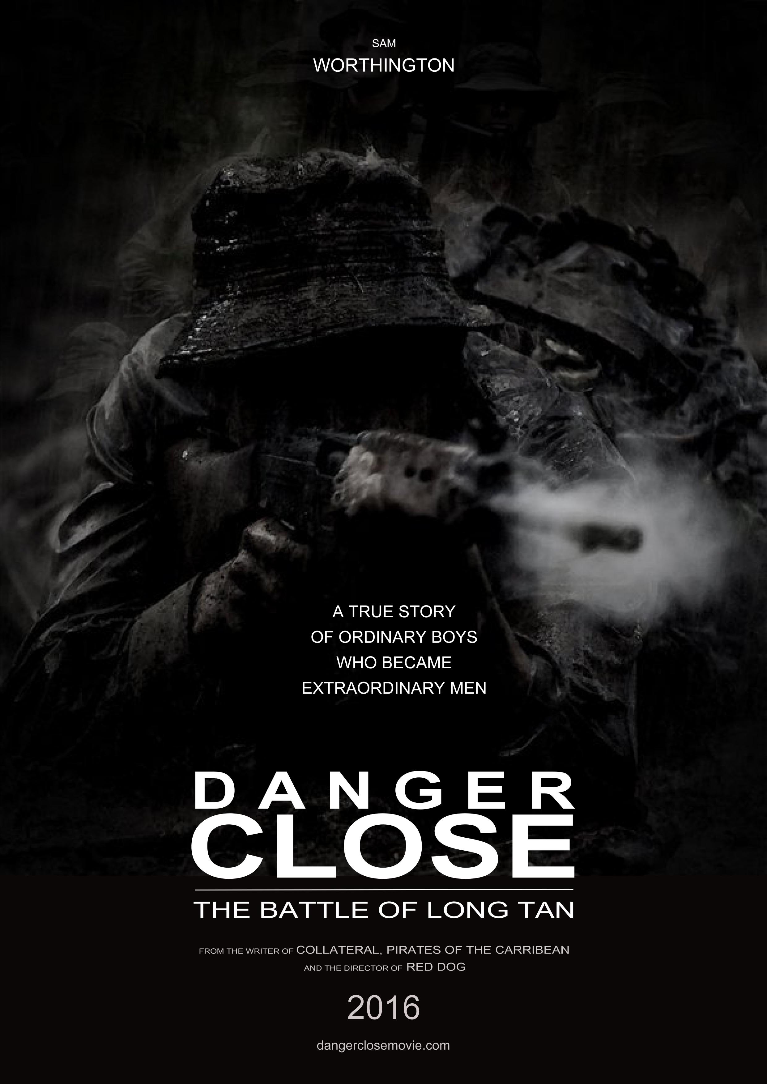 Long Tan Danger Close Movie Poster