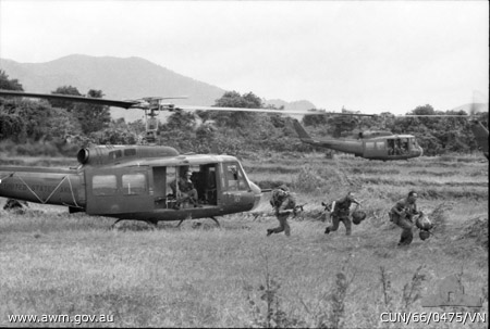 6RAR Airborne Assault Vietnam