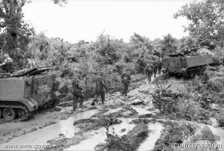 Australian APC's Vietnam